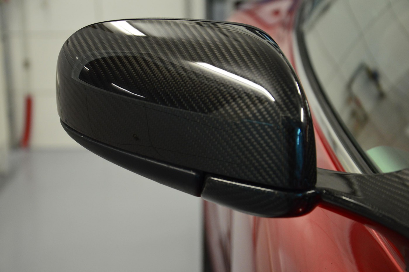 Wing Mirrors Covers Carbon Parts